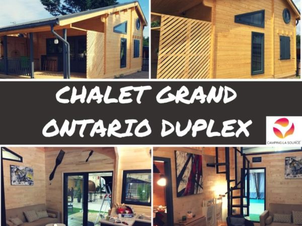 Chalet Grand Ontario 8pers