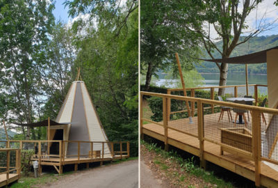 Tipi home 5 pers. 1